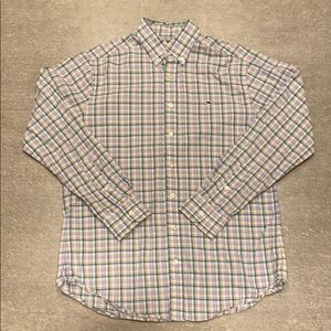 Vineyard Vines - Men's M Checked Collared Shirt